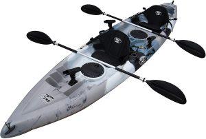 Brooklyn Kayak Company UH-TK181 Sit On Top Tandem Fishing Kayak